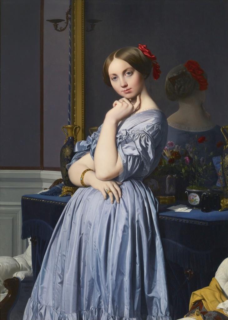 Jean,Auguste,Dominique Ingres, Contessa d\u0027Haussonville, 1845 , Frick  Collection