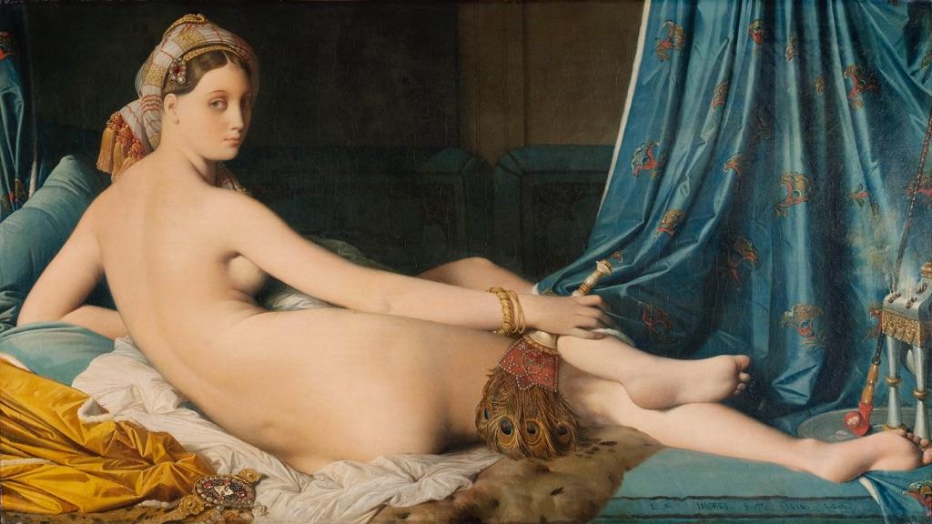 Bagno Turco Ingres : Jean auguste dominique ingres il bagno turco u museo del