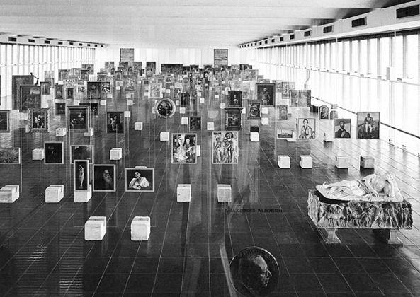 L'allestimento di Lina Bo Bardi, Museu de Arte de São Paulo, 1968