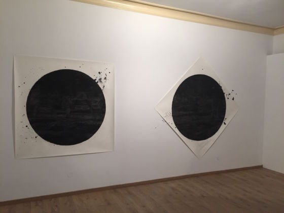 Marcel Rusu – No Man on the Moon – veduta della mostra presso la Visual Kontakt Gallery, Cluj-Napoca 2015