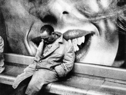 Mario Dondero, Nel metrò di Parigi, 1963