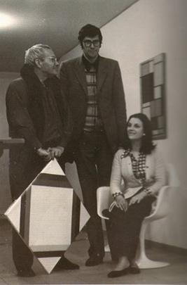 Max Bill, Pio e Anna Monti, 1970