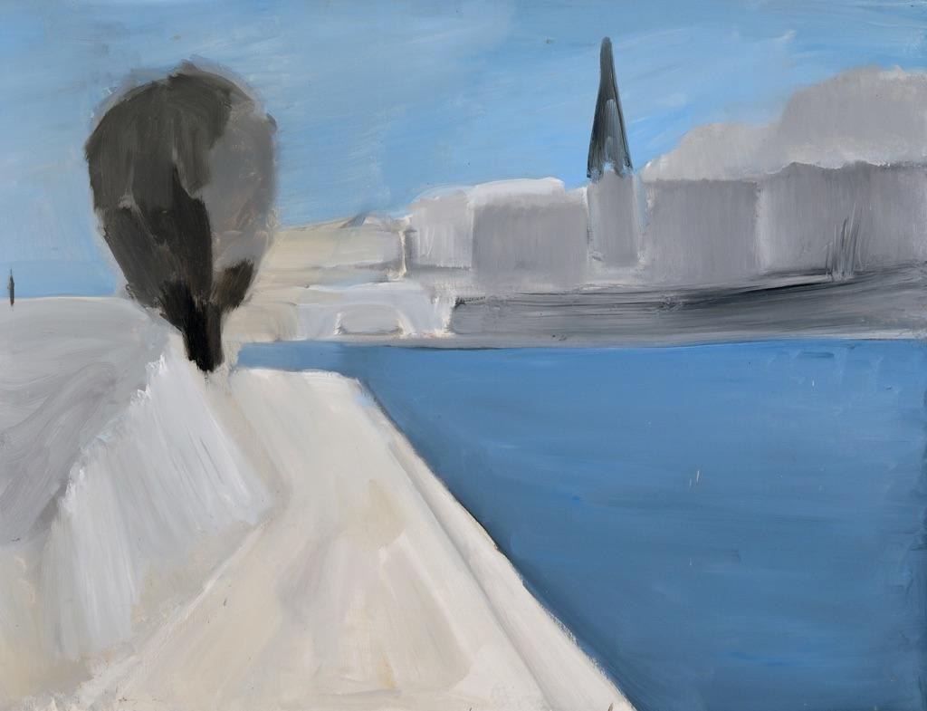 Nicolas de Staël, Vue des quais de Paris, 1954 - Parma, Fondazione Magnani Rocca © Fondazione Magnani Rocca