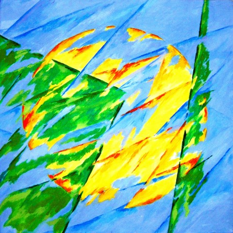Omaggio a Francesco Guerrieri - Eduardo Palumbo, Quella luce nel verde, 2015