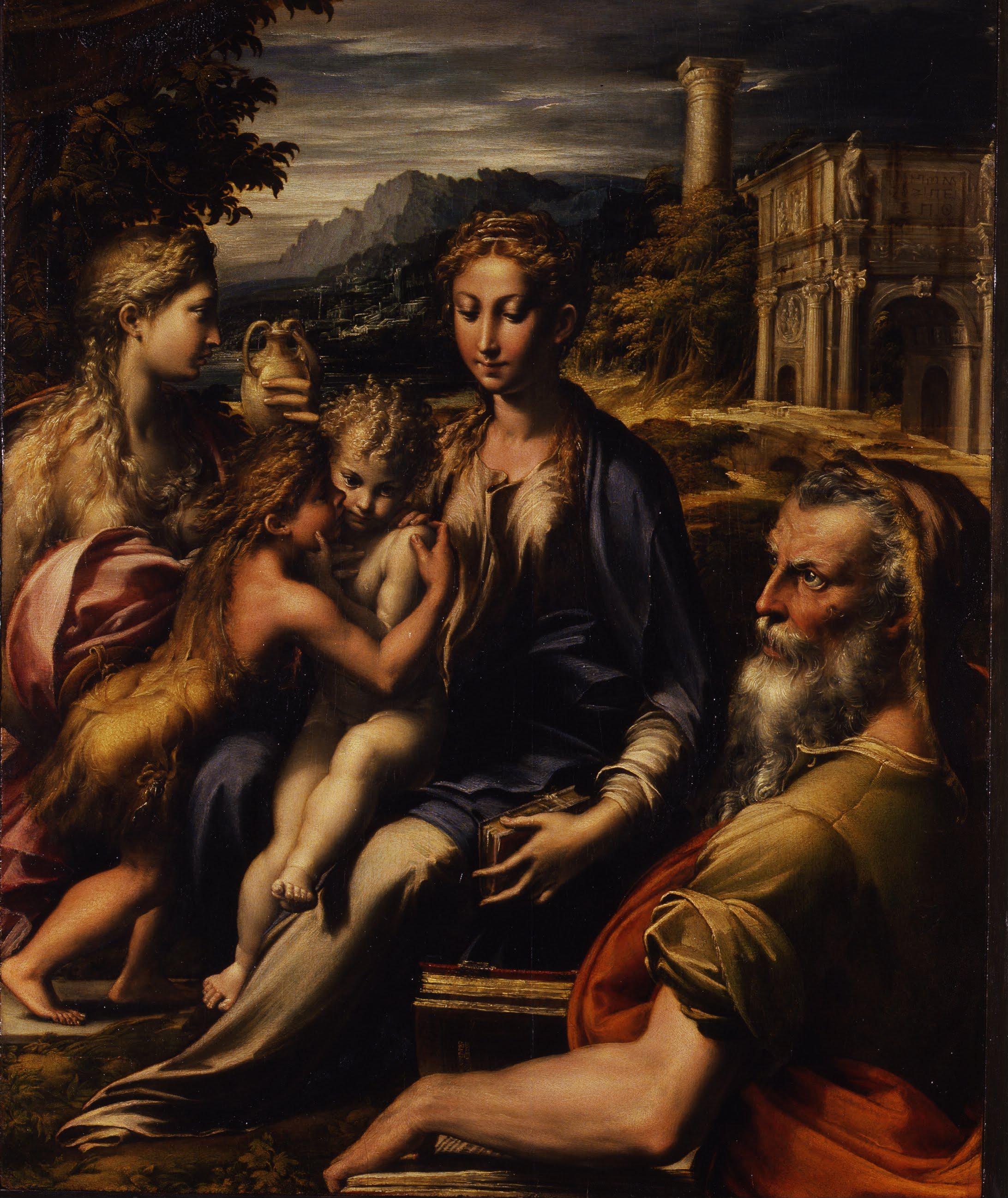 Parmigianino, Madonna di San Zaccaria, 1533