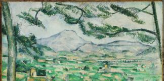 Paul Cézanne, La montagna Sainte Victoire, 1886-87 - olio su tela - Phillips Collection, Washington