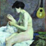 Paul Gauguin, Nudo di donna che cuce, 1880 - Ny Carlsberg Glyptotek, Copenaghen