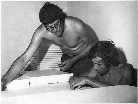 Pio Monti e Alighiero Boetti, 1972
