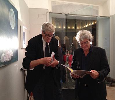 Pio Monti e Mario Martone, IDILL'IO arte contemporanea, Recanati 2015