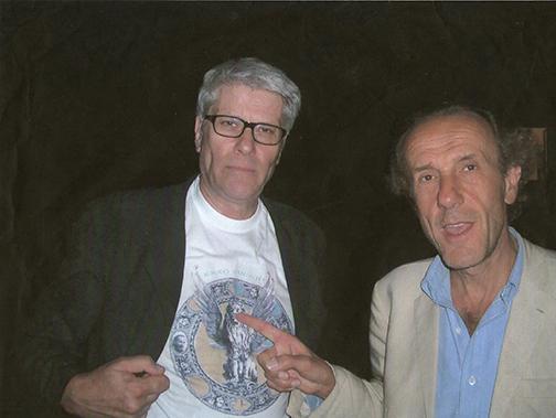 Pio Monti ed Enzo Cucchi - Villa Val Campana, 2004