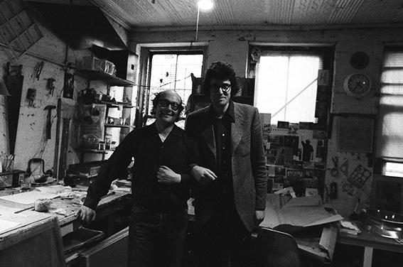 Sol LeWitt e Pio Monti, 1972