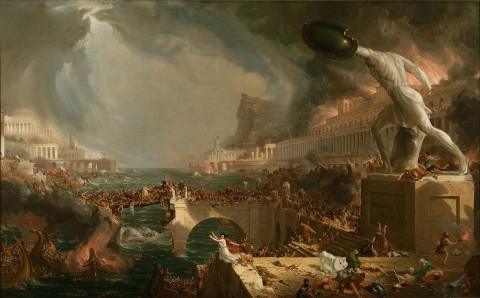 Thomas Cole, Destino dell'impero, 1833-36