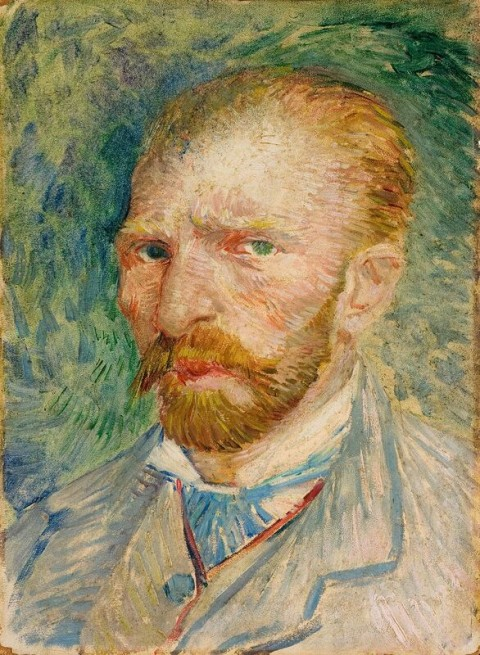Vincent van Gogh, Autoritratto, aprile-giugno 1887 - Kröller Müller Museum, Otterlo