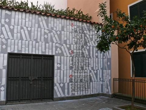 ivan + Piger, Metafisico popolare, 2015 - Muri d'Autore, Salerno - courtesy Fondazione Alfonso Gatto
