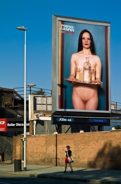 Alva Bernadine, Pornography As Art - Wandsworth Road