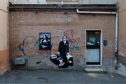 Blek le Rat a Roma - photo ® Blind Eye Factory