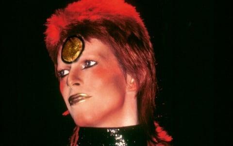 David Bowie, fotografia tratta dal libro di Mick Rock, The Rise of David Bowie 1972–1973, Taschen