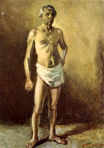 Giorgio de Chirico, Autoritratto nudo, 1945 - Roma, Fondazione Giorgio e Isa de Chirico