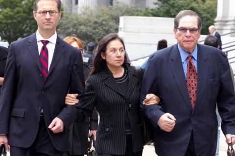 Glafira Rosales e i suoi avvocati