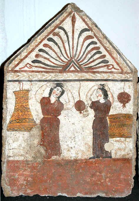 Prèfiche, Paestum, IV-III secolo a.C.
