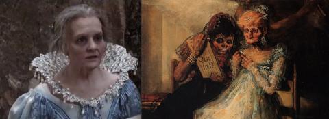 Il tempo e le vecchie di Goya e Imma di Garrone