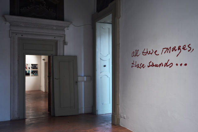 Jonas Mekas – All These Images, These Sounds – A Palazzo Gallery, Brescia 2015 - photo Alessandro Speccher & Caterina Rossato