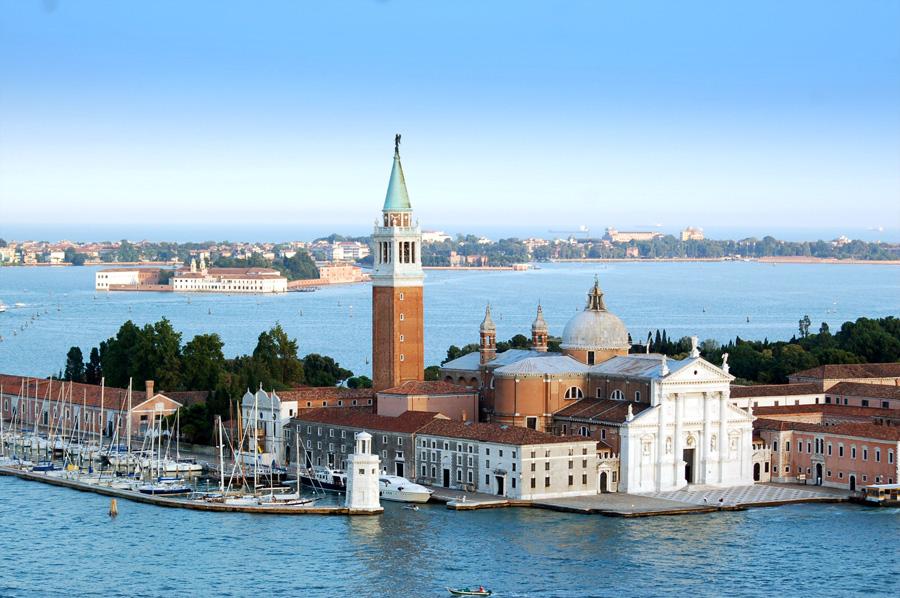 L'Isola di San Giorgio Maggiore, sede della Fondazione Cini