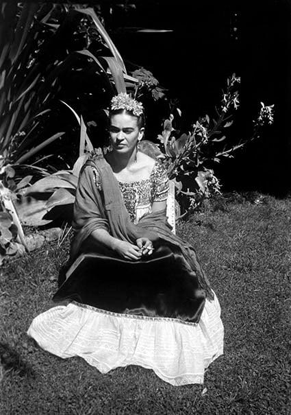 Leo Matiz, Frida Kahlo - © Eva Alejandra Matiz & The Leo Matiz Foundation