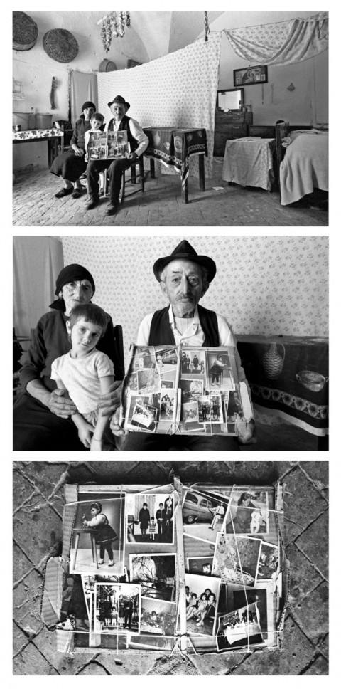 Mario Cresci, dalla serie Ritratti reali, 1970-72 - ristampate nel 2010 a cura dell'autore - Archivio dell'autore, Bergamo