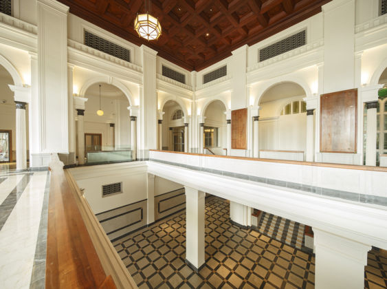 National Gallery, Singapore - Supreme Court Historical Lobby - photo Darren Soh