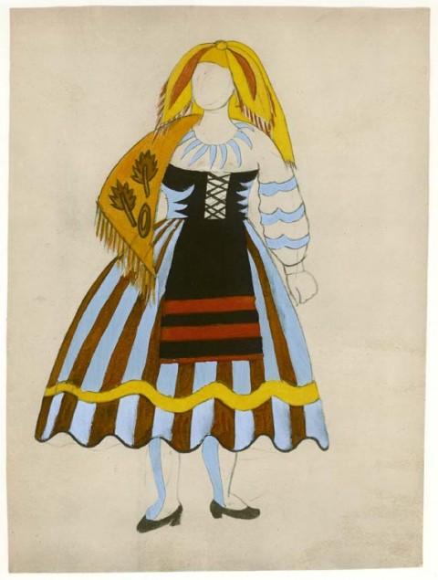 Pablo Picasso, Le Tricorne, 1920