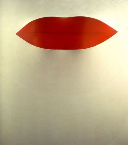 Pino Pascali, Primo piano labbra, 1964