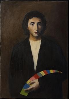 Stefano Di Stasio, Autoritratto, 1978 - Roma, collezione dell'artista