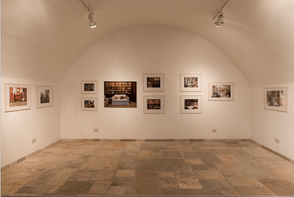 Alberta Zallone – Quelle stanze - installation view at Museo Nuova Era, Bari 2016