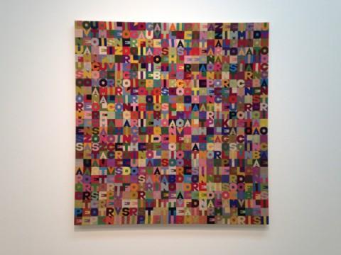 Alighiero Boetti - Ben Brown Fine Arts, Londra 2016