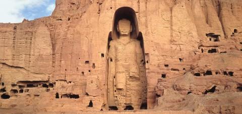 Buddha di Bamiyan prima della distruzione avvenuta nel 2001