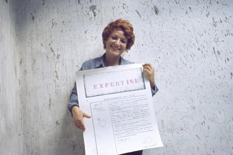 Cloti Ricciardi, Expertise. Conferma di identità, 1972