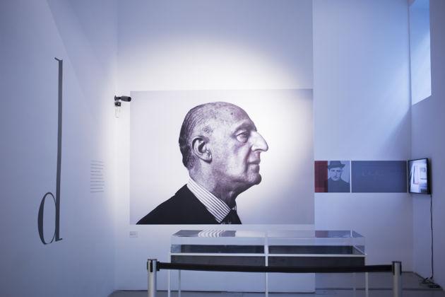 Gillo Dorfles - installation view della mostra al Macro, Roma 2016
