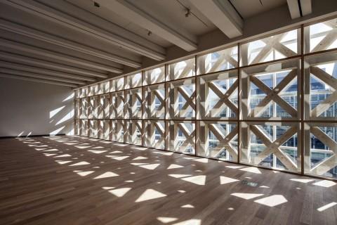 LCD Awards 2015 Asia. Oita Prefectural Art Museum, Shigeru Ban Architects