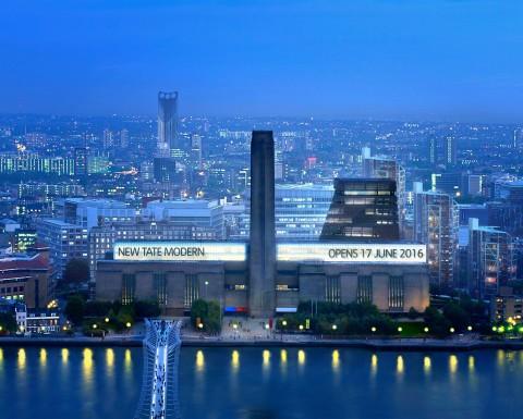 LCD Awards 2015 Tate Modern, London. Migliori mostre e programmi 4 © Hayes Davidson and Herzog & de Meuron