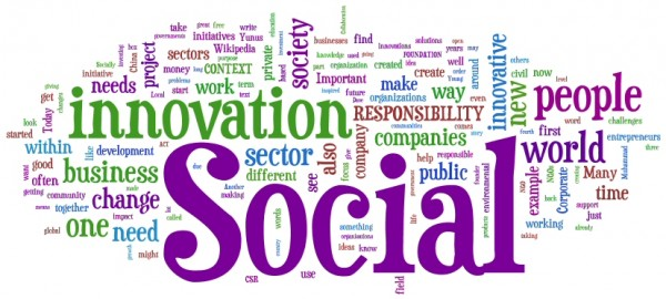 La nuvola dell'innovazione sociale (fonte Giornale Radio Sociale)