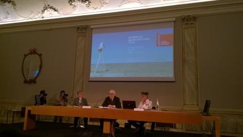 La presentazione della Biennale di Architettura