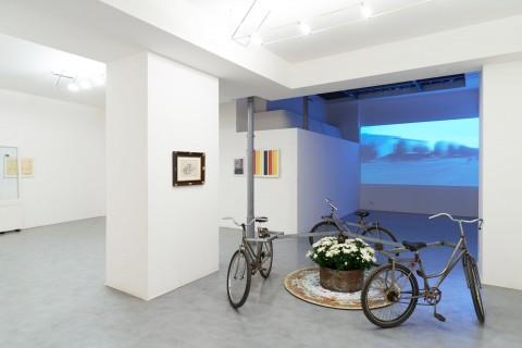 Luca Vitone - Berlin 192010 - installation view at Galleria de' Foscherari, Bologna 2016