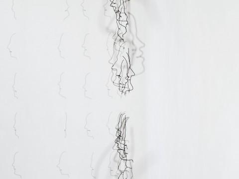 Markus Raetz, Chambre de lecture, 2013-15 - © 2016 Markus Raetz, Prolitteris, Zürich - photo Alexander Jaquemet