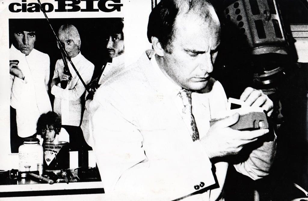 Maurizio Calvesi negli Anni Sessanta