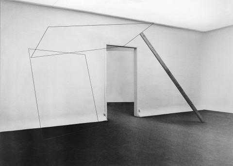 Pietro Coletta - installazione view at XV. Biennale di Venezia, 1982