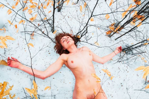 Ryan McGinley, Ivy (Minnewaska), 2015 - Courtesy l'artista e Team Gallery
