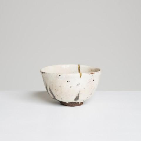 Shozo Michikawa, Kohiki Tea Bowl, grès, 2015