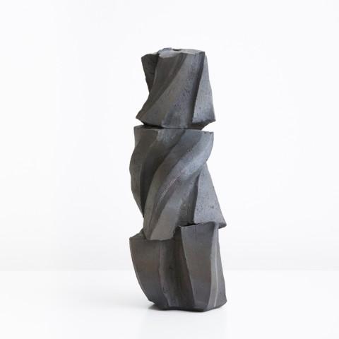 Shozo Michikawa, Tanka Sculptural Form, grès, 2015