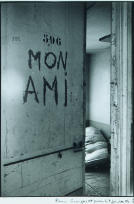 Sophie Calle, Mon Ami, 1984 © Sophie Calle by Siae 2016